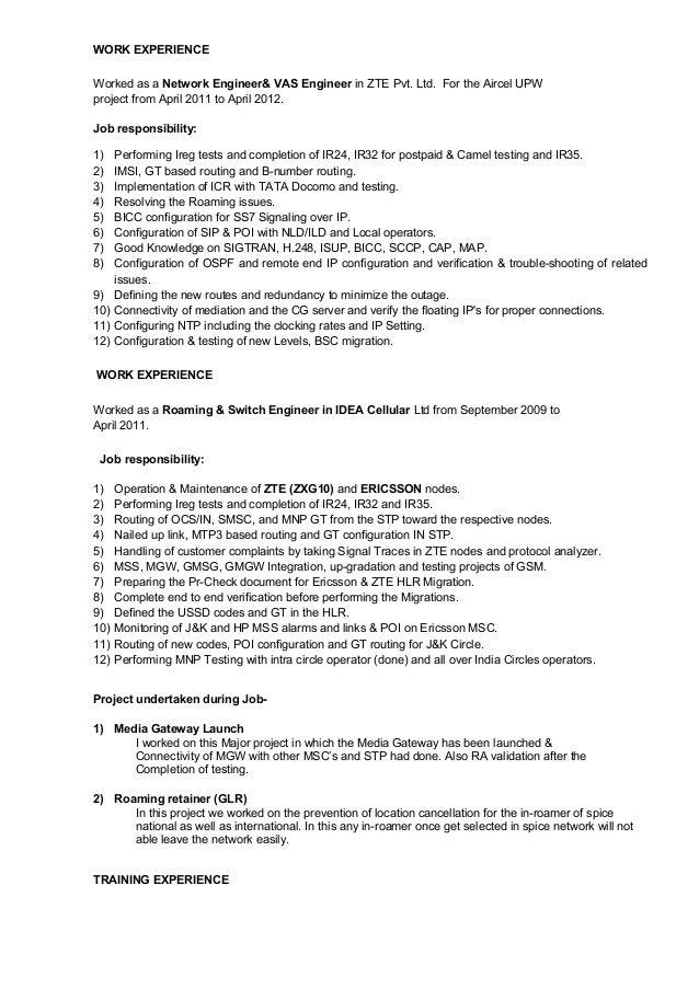 Resume-Rohit Joshi Slide 2
