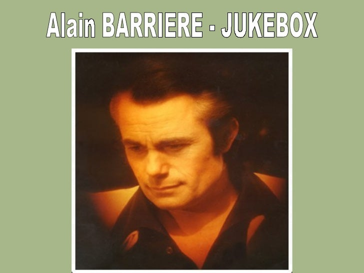 Alain BARRIERE - JUKEBOX