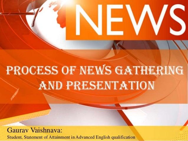 Gaurav Vaishnava: Student, Statement of Attainment in Advanced English qualification