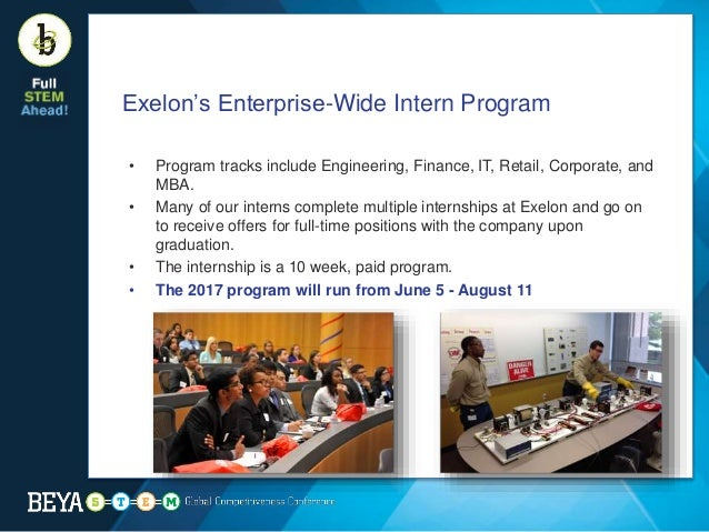 Exelon internship