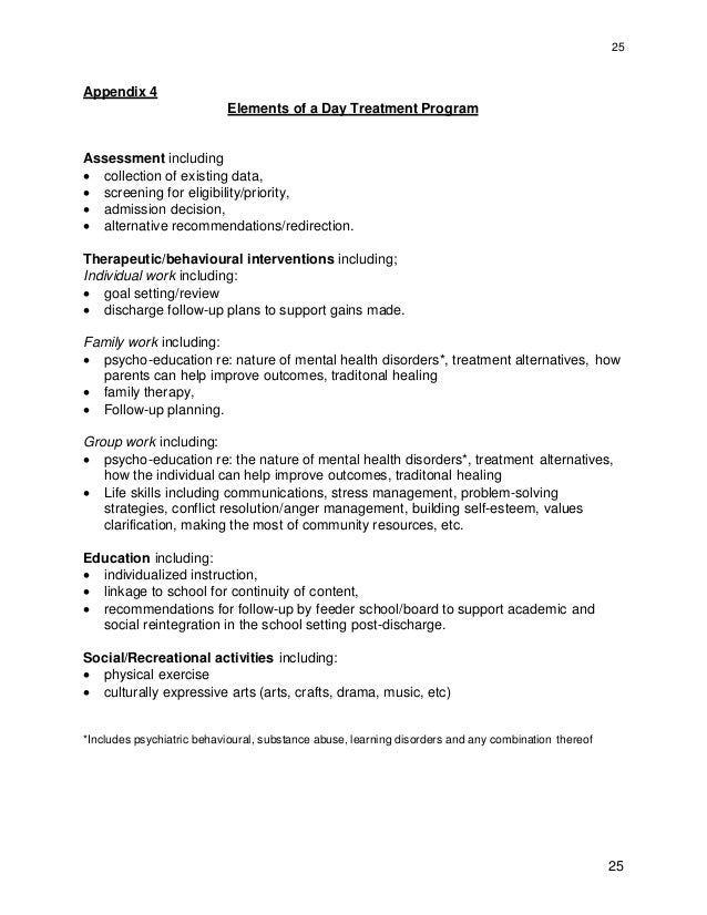 Proposal For Group Therapy Sample
