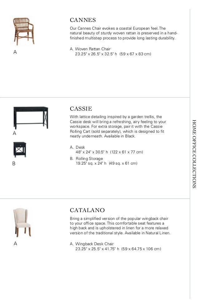 7 HOMEOFFICECOLLECTIONS CANNES Our Cannes Chair