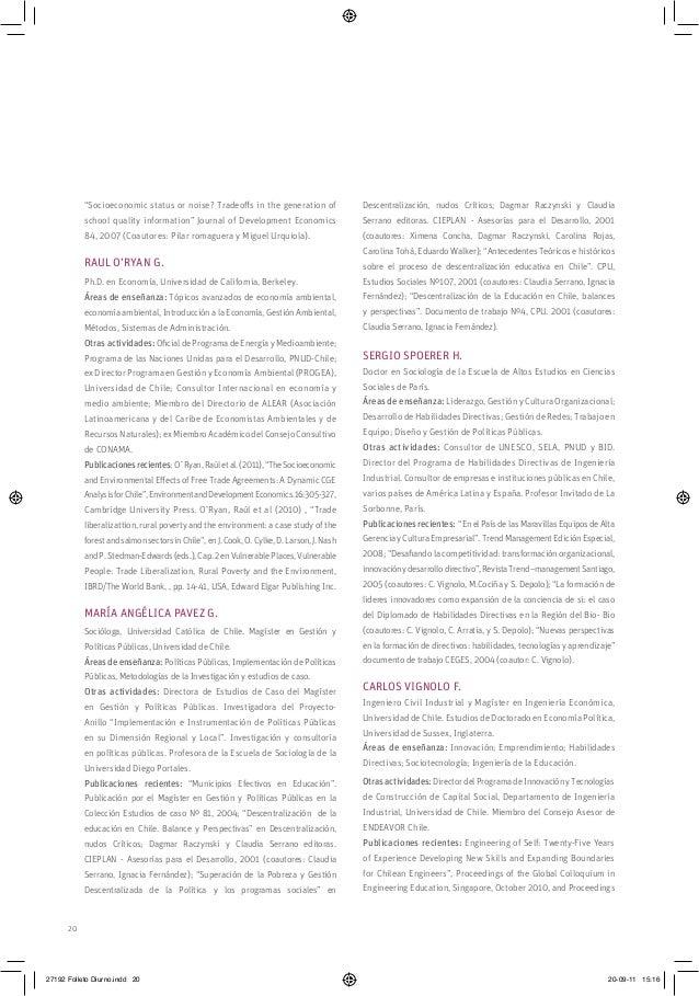 "20 ""Socioeconomic status or noise? Tradeoffs in the generation of school quality information"" Journal of Development Econo..."