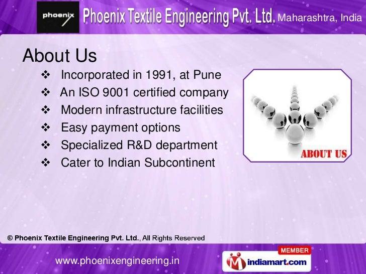 Textile Machinery Parts & Assemblies by Phoenix Engineers, Pune Slide 2