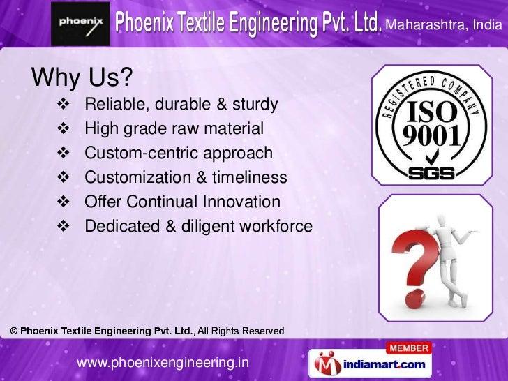 Textile Machinery Parts & Assemblies by Phoenix Engineers, Pune Slide 3