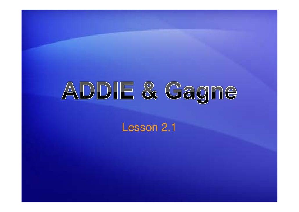 Lesson 2.1