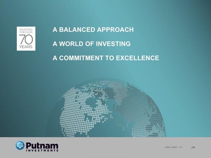 Putnam Investments Making Your Nest Egg Last
