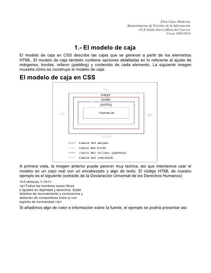 Elisa López Madrona                                                           Mantenimiento de Portales de la Información ...