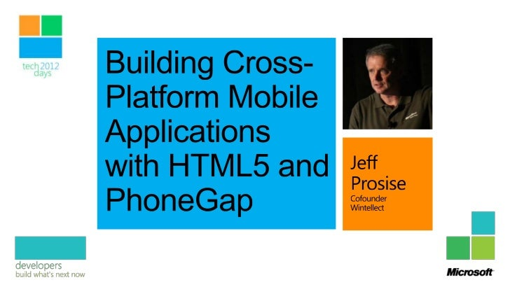 Framework for cross-platform mobile appsAccess native platform features from JavaScriptSupports most major mobile platform...