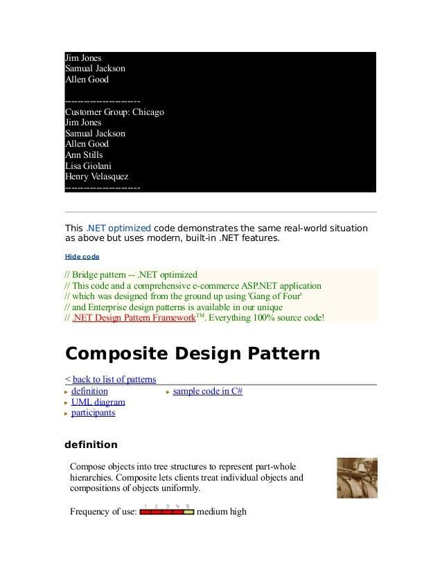 27418524 design-patterns-dot-net-with-examples
