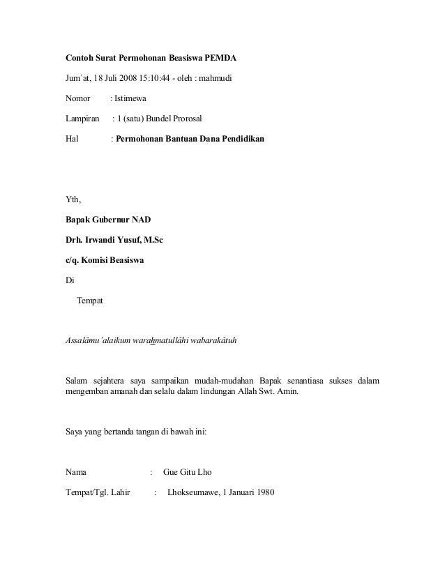 contoh essay permohonan beasiswa tanoto