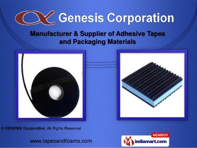 Manufacturer & Supplier of Adhesive Tapes        and Packaging Materials