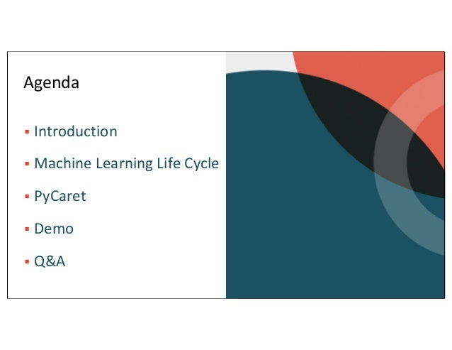 Machine Learning with PyCaret Slide 2