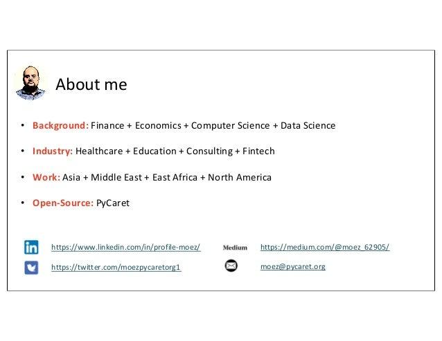 Machine Learning with PyCaret Slide 3