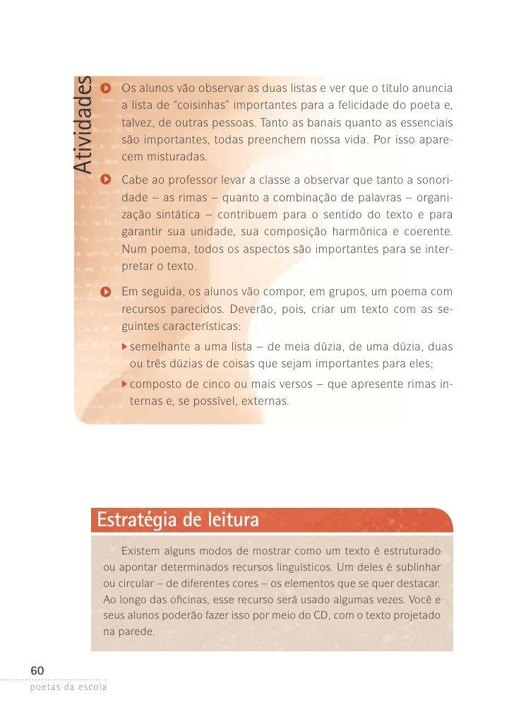 Famosos Livro: Poetas Da Escola XL74
