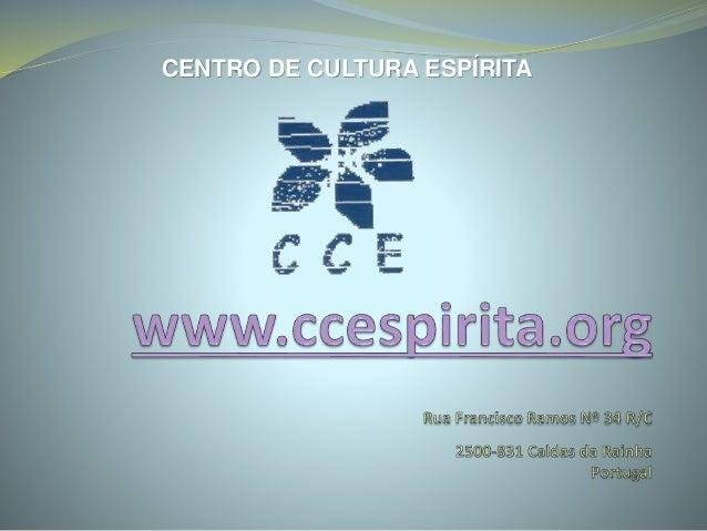CENTRO DE CULTURA ESPÍRITA