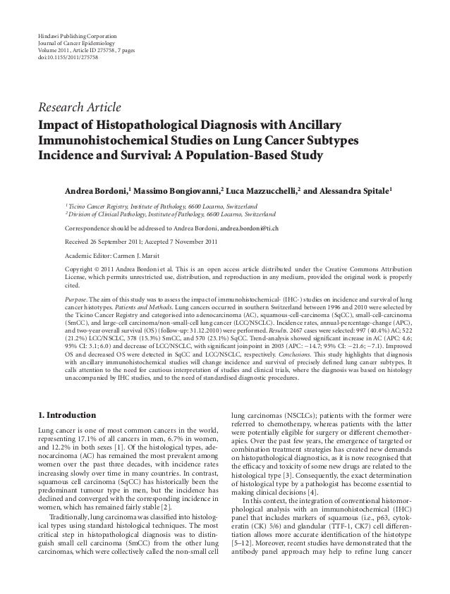 Hindawi Publishing CorporationJournal of Cancer EpidemiologyVolume 2011, Article ID 275758, 7 pagesdoi:10.1155/2011/275758...