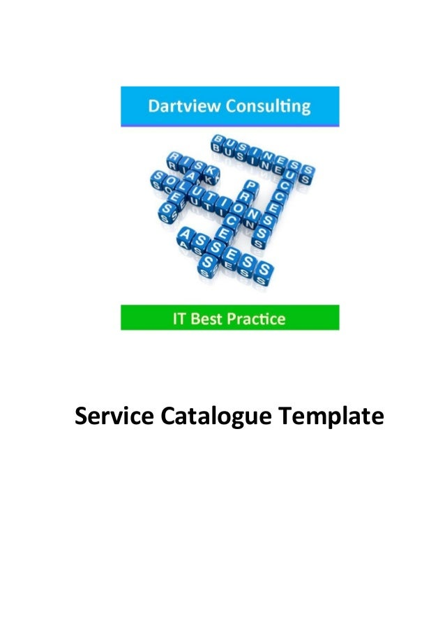 Service Catalogue Template