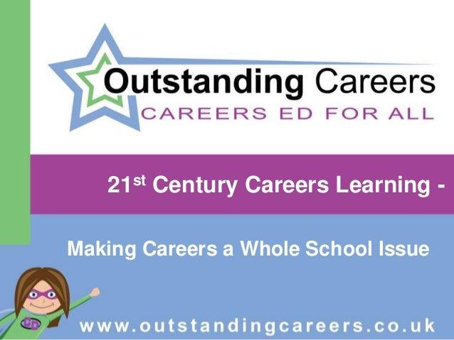 21st century careers