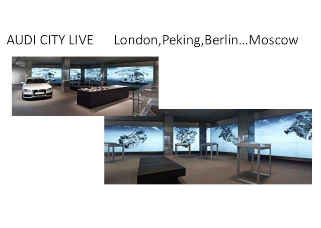 AUDI CITY LIVE London,Peking,Berlin…Moscow