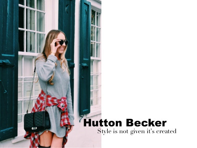 Hutton Becker Style is not given it's created