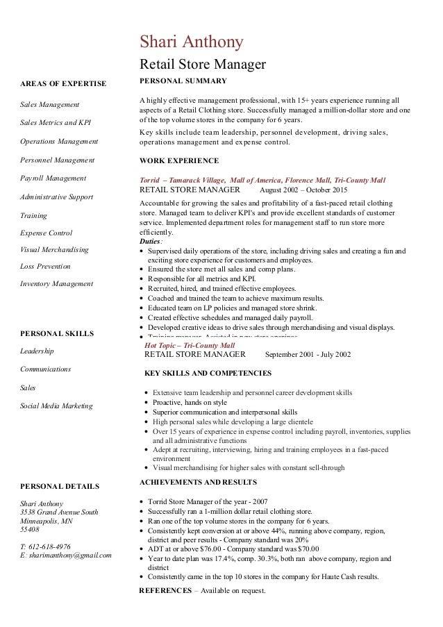 Shari Resume 1