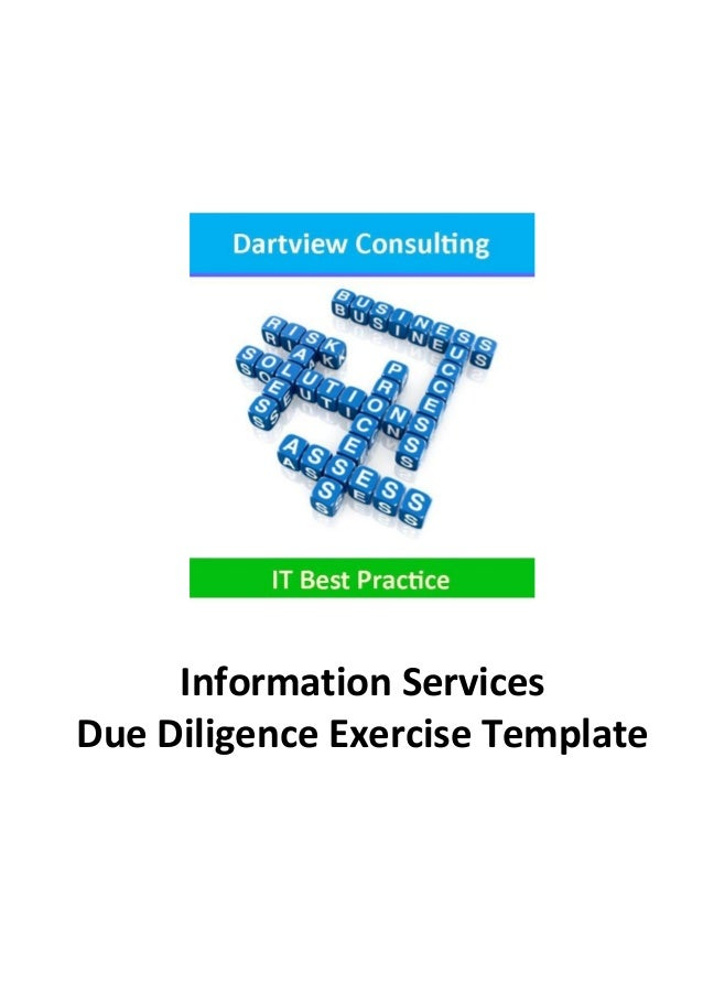 technology due diligence template - it due diligence exercise template