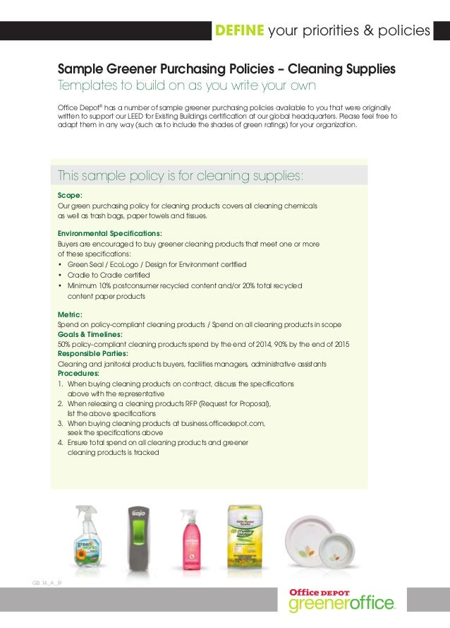 Office depot greener purchasing program 2014 office depot yelopaper Image collections