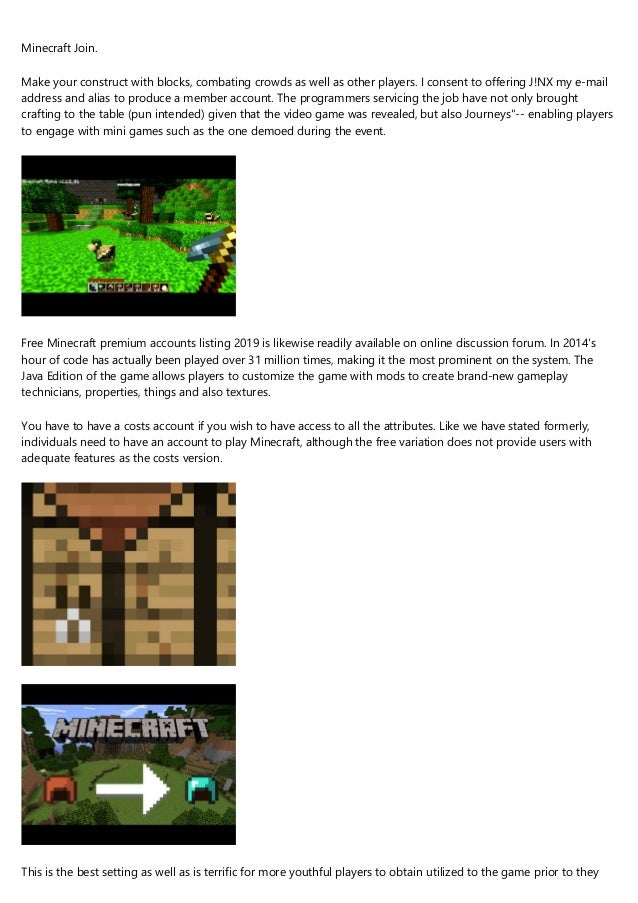 Responsible For A Minecraft Account Free Budget 12 Top Notch Ways To
