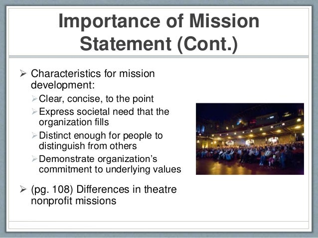 Superior Importance Of Mission Statement ...