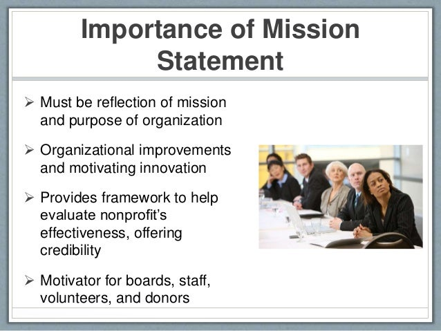 Exceptional Importance Of Mission Statement ...