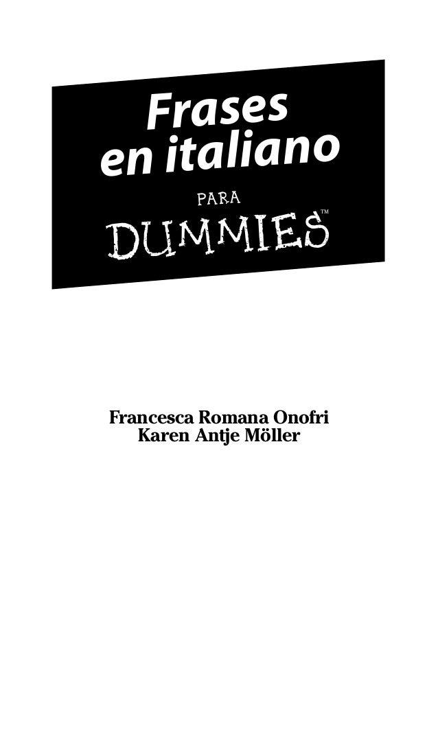 Muitas vezes 27923 frases en italiano para dummies (1) EN57