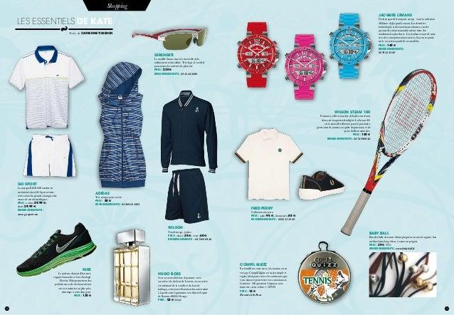 32 juillet 2012 33 Shopping Textes de catherine tisseron Les essentiels de Kate WILSON STEAM 100 Puissance, effet et touch...