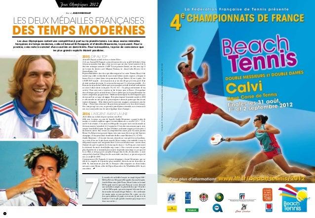 12 Jeux Olympiques 2012 les deux médailles françaises des temps modernes 2000, DIP AU TOP Arnaud Di Pasquale, médaille de ...