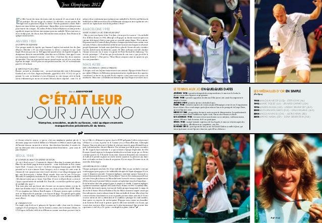 14 juillet 2012 15 DerrickCeyrac/AFP JoergSchmitt/DPA/AFP Andre Agassi Steffi Graf14 juillet 2012 15 C'était leur jour J a...