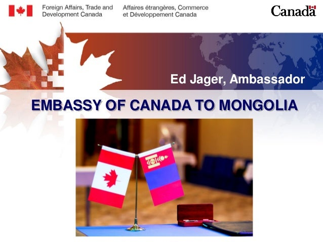 27 04 2015 A re-introduction to the Canadian embassy to