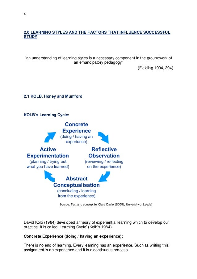 Chapter Teaching Learning Styles and Multiple Intelligences to Students
