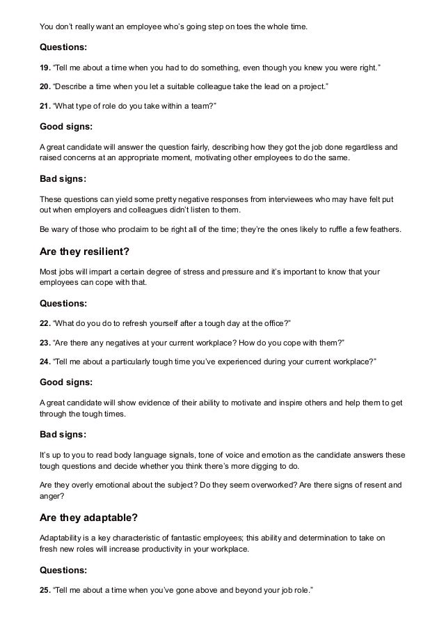 team lead interview questions and answers
