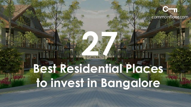 27 best pocket friendly residential places that you should invest in