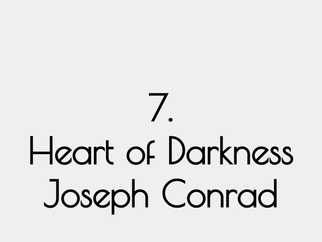 setting analysis on joseph conrads heart of darkness The project gutenberg ebook of heart of darkness, by joseph conrad this to the profound darkness of its heart he kept on lifting and setting.