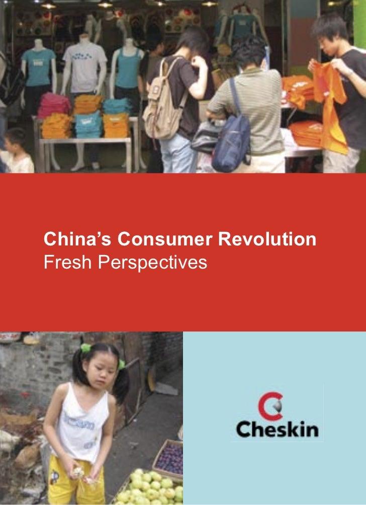 China's Consumer RevolutionFresh Perspectives