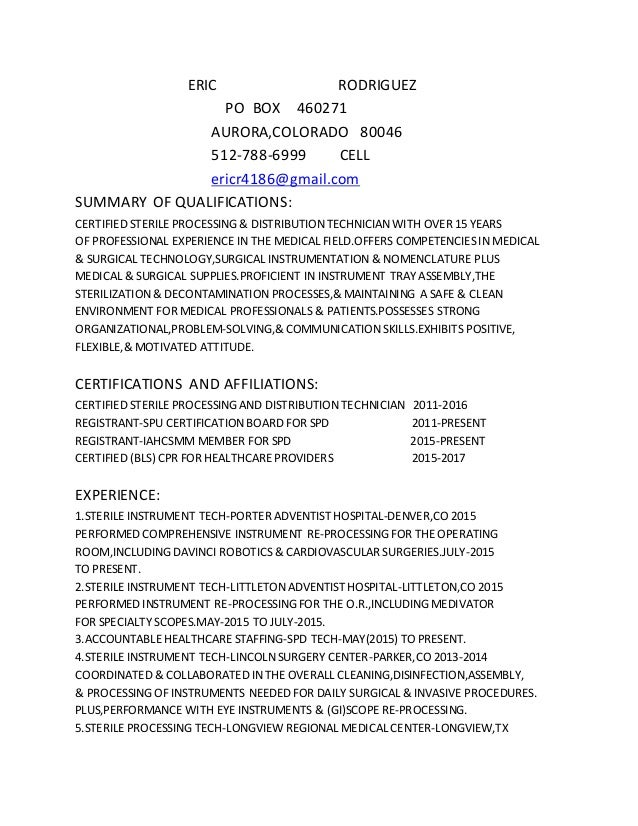 resume eric rodriguez po box 460271 auroracolorado 80046 512 788 6999 cell ericr4186