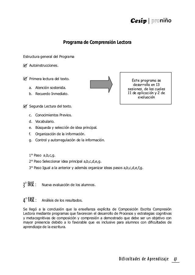 """Dificultades de Aprendizaje42 1. Beltrán (1995) """" Psicología de la Educación"""" Ed. Alfa Omega - España. 2. Bravo (1996). """"P..."""