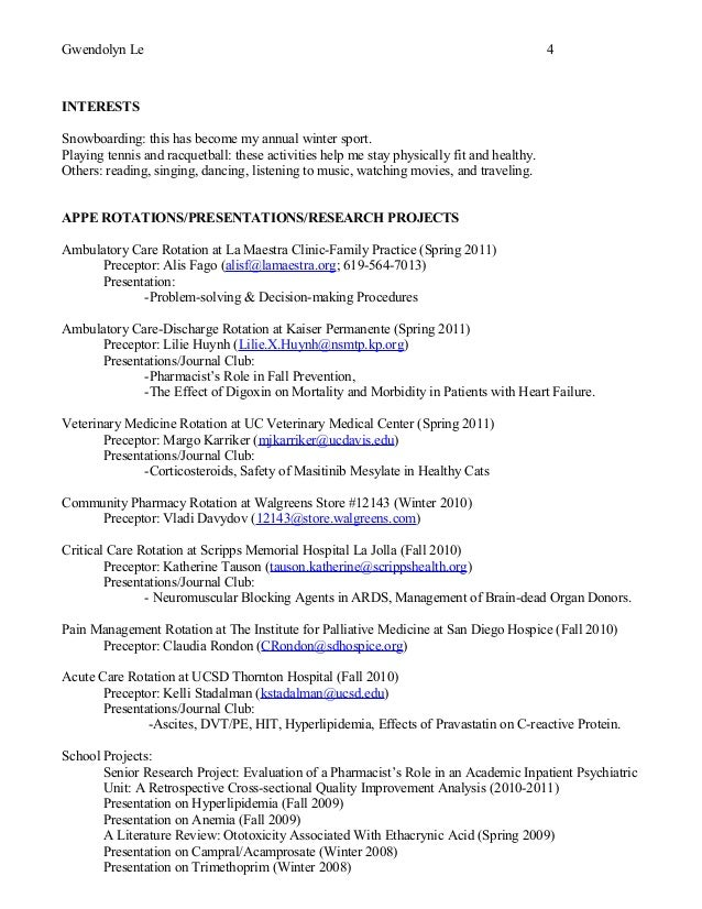 Walgreens Resume download sample of resume 4