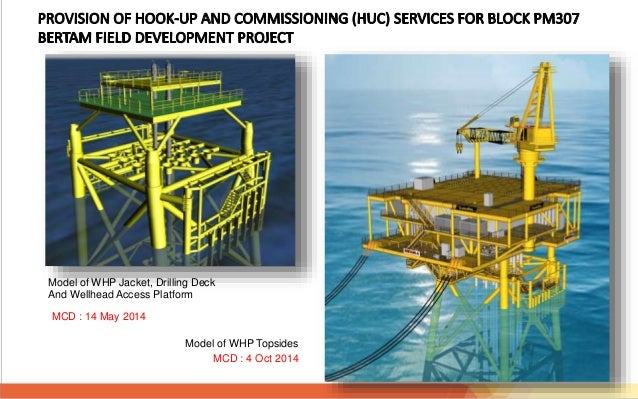 Define hook up and commissioning. Our experience