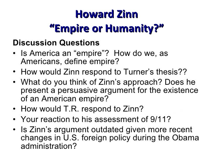 An experts' history of Howard Zinn