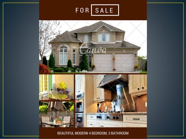 Gorgeous Real Estate Flyer Templates  You Can Create Fast And Free