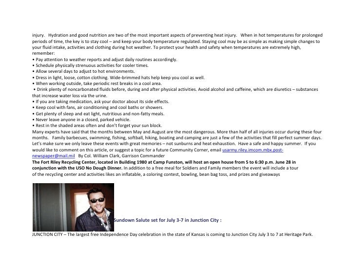 27 June 2012 1HBCT Weekly News Update Slide 2