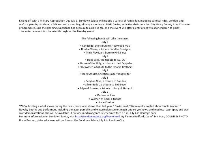 27 June 2012 1HBCT Weekly News Update Slide 3