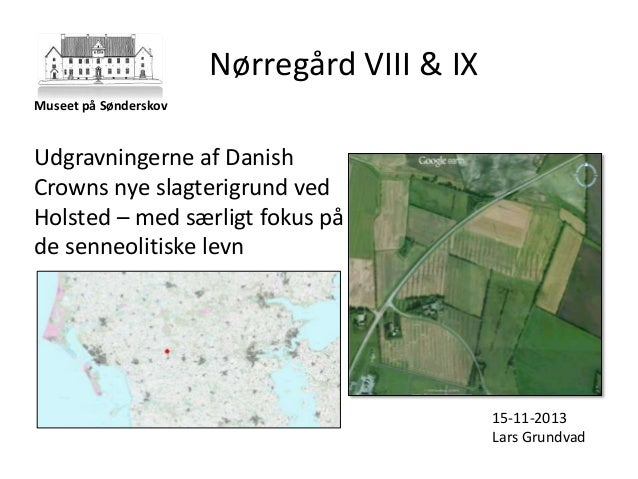 Nørregård VIII & IX Museet på Sønderskov  Udgravningerne af Danish Crowns nye slagterigrund ved Holsted – med særligt foku...